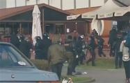 В Лиде караевцы разгоняли протестующих при помощи слезоточивого газа