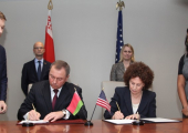 Первое за 20 лет межправительственное соглашение подписали Беларусь и США