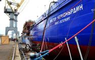Видеофакт: Как в РФ горел ледокол «Виктор Черномырдин»
