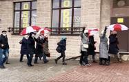 Пенсионеры вышли на Марш в Гродно