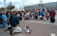 Другі дзень вернікі розных канфесій моляцца за Беларусь у цэнтры Мінска