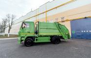 МАЗ выпустил первый газовый мусоровоз