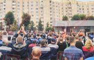 Работники БелАЗа: Требуем отставки Лукашенко