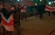Минчане вышли на шествие с Кастусем Калиновским