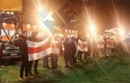 Минские районы и пригороды вышли на вечерние протесты
