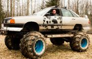 Белорус сделал машину-монстр из Audi 100