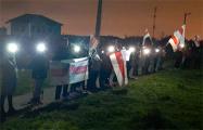 Минские регионы присоединились к вечерним протестам