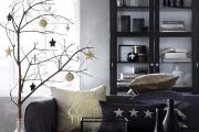 Украшаем дом к Новому году: гирлянда из апельсинов и декор из веток