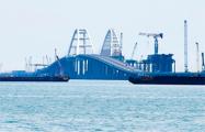 Минтранс России рекомендует судам не заходить в район Крымского моста