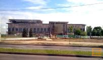С новой резиденции Лукашенко за ночь исчезли русские буквы