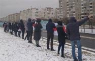 Жители Серебрянки вышли на протест