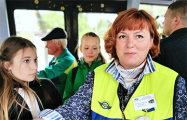Как кондуктор троллейбуса в Могилеве учит белорусскому языку пассажиров