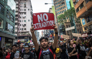 Фотофакт: На протесты в Гонконге вышло около двух миллионов человек