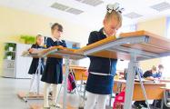 Эксперимент: В одной из школ Каменецкого района дети часть урока стоят