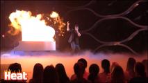 Дмитрий Колдун получил ожог на съемках шоу «Точь-в-точь»