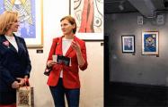 Маразам «ябатек»: с гродненской выставки убрали картины с белым и красным цветами