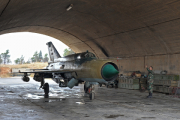 Боевики сбили сирийский истребитель и расстреляли пилота