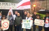 Белорусы Нью-Йорка вышли на митинг перед штаб-квартирой ООН