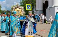 Праваслаўныя вернікі адзначылі свята Жыровіцкай іконы Божай Маці