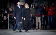 Матеуш Моравецкий встретился с Ангелой Меркель