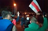 Еще один марш прошел в Минске в районе «Риги»