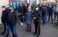 В Бресте противники завода АКБ вышли на необычную акцию: онлайн-трансляция