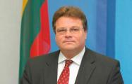 Линас Линкявичюс: Беларусь, по сути, является частью вооруженных сил России