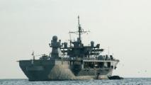 Корабль ВМС Украины с белорусами на борту покинул Мальту и взял курс на Севастополь