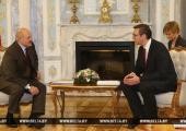 Лукашенко призвал премьера Сербии к активизации сотрудничества между странами
