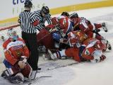 Хоккейная сборная Беларуси обыграла по буллитам команду Чехии в матче Евровызова