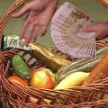 В Беларуси цены на основные продукты питания в марте возросли на 1,7%