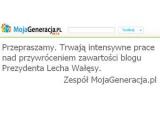 Хакеры уничтожили блог Леха Валенсы