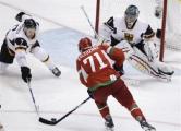 Хоккеисты сборной Беларуси выиграли спарринг у команды Германии