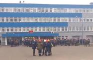 Жители Гродно вышли поддержать бастующих рабочих «Гродно Азота»