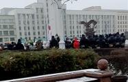 Лукашисты задержали пенсионеров, которые вышли на протест