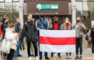 Белорусские студенты массово выходят на акции протеста