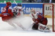 Сборная Латвии лишь по буллитам проиграла команде Финляндии на чемпионате мира по хоккею