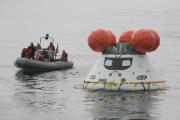 В Тихом океане завершены испытания космического челнока «Орион»