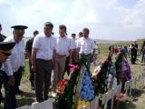 Церемония перезахоронения останков белорусского воина-освободителя состоялась под Киевом