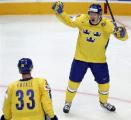 Сборная Финляндии стала третьим полуфиналистом чемпионата мира по хоккею