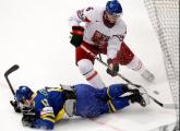 Сборная Швеции стала первым финалистом чемпионата мира по хоккею