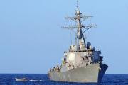В Черное море вошел американский крейсер