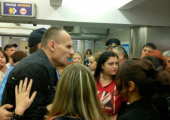 """Милиция озвучила свою версию задержания слепого у станции метро """"Уручье"""""""