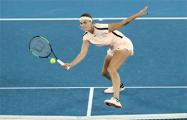 Соболенко с победы стартовала на турнире в Страсбурге