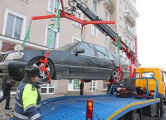 ГАИ устроила облаву на водителей на Привокзальной площади