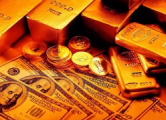 Цены на золото рухнули до рекордного уровня