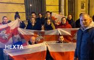 Белорусы Санкт-Петербурга в 80-й раз вышли к посольству Беларуси в РФ