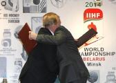 Делегация Международной федерации хоккея оценит ход подготовки Минска к чемпионату мира-2014