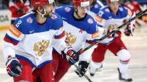 Российская сборная по хоккею выступит на ЧМ-2021 под «Катюшу»