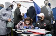Белорус, собирающий подписи за Тихановскую: Стало трудно сидеть на месте